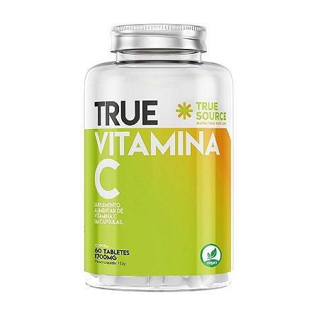 True Vitamina C 1700mg 60 Cápsulas - True Source
