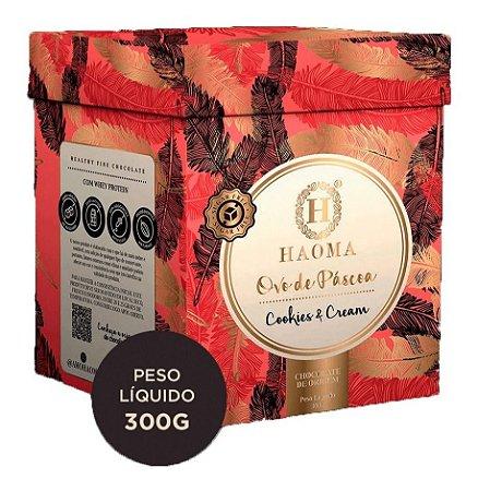 Ovo De Páscoa Chocolate Belga Recheio Cookies & Cream Haoma