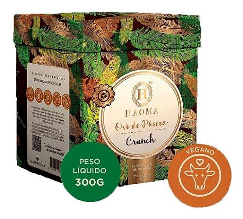 Haoma Ovo De Páscoa Chocolate Vegano Sabor Crunch 300g Juju