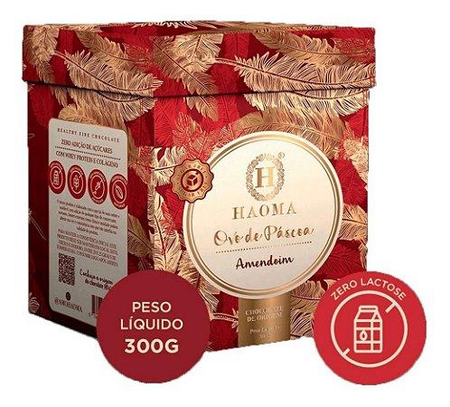 Haoma Ovo Pascoa Chocolate Belga Recheio De Amendoim 300g