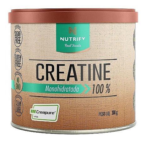 Creatine Creapure Original Creatina Nutrify 300g