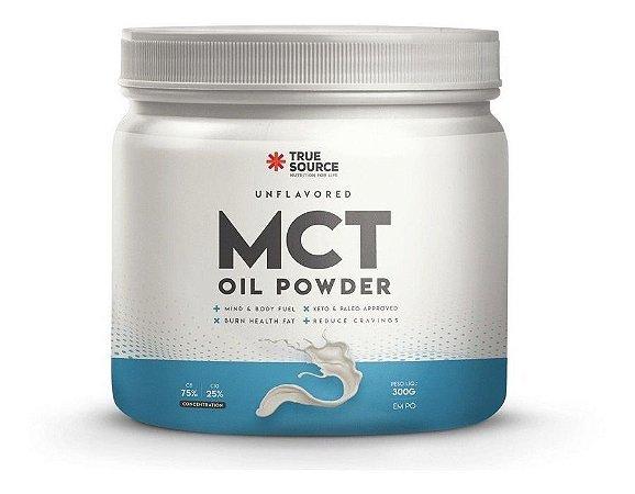 True Source Tcm Mct Em Pó Oil Powder Sabor Neutro 300g