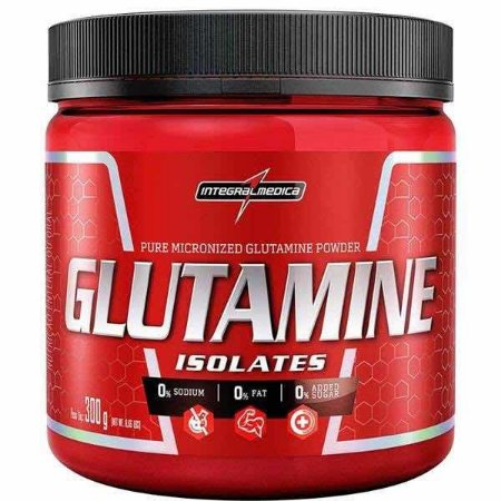 Glutamina Powder 300g (100% Pura) - Integral Medica