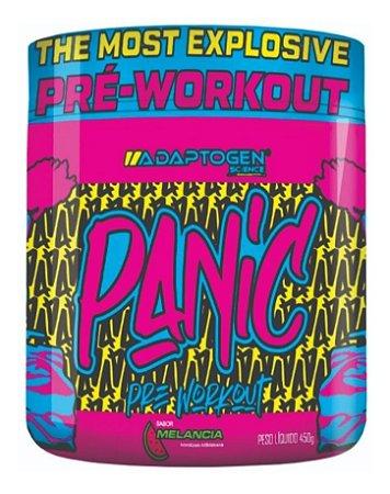 Panic 450g Pré Treino Adaptogen Science Usa - Pré Workout
