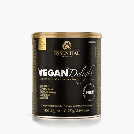 Vegan Delight - Sabor Natural - 250g - Essential Nutrition
