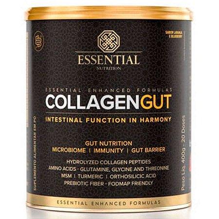 Collagen Gut 400g Colageno Lançamento Essential Nutrition
