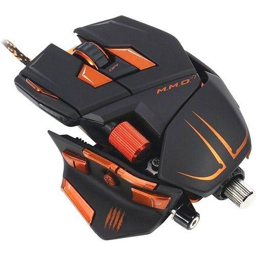 Mouse Gamer Cyborg M.M.O. 7 Preto 5600 Dpi