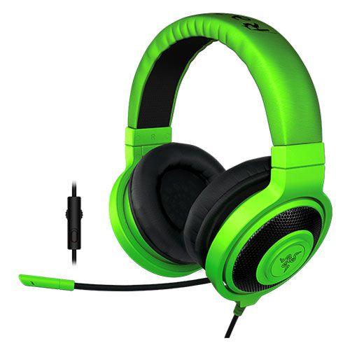 Headset Gamer Razer Kraken Pro Green