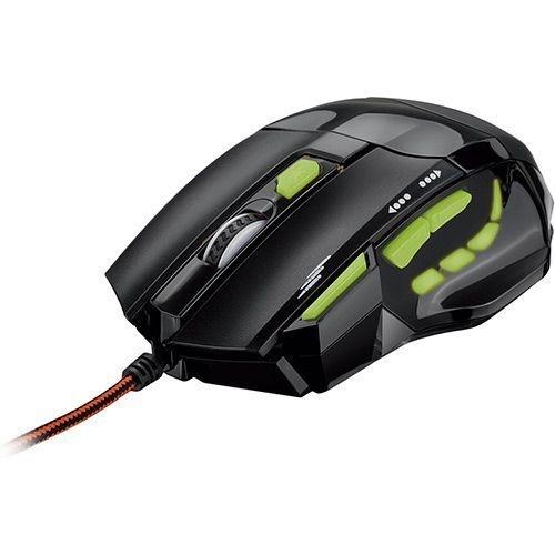 Mouse Gamer Óptico Multilaser 2400 Dpi - MO208