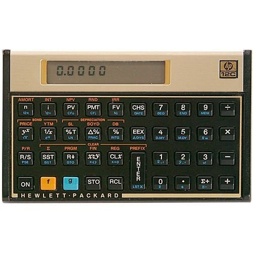 Calculadora Financeira HP 12C Gold - Original