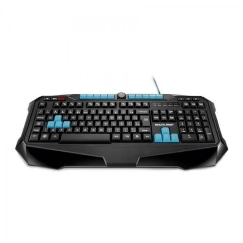 Teclado Metal War Gamer Multilaser Preto Usb Tc185