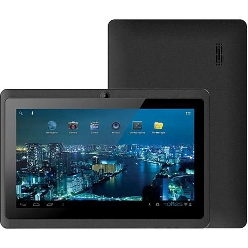 """Tablet Phaser PC-713 Kinno II 4GB Wi-fi Tela 7"""" Android 4.0"""
