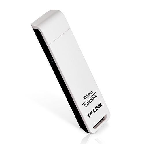 Adaptador USB Wireless TP-Link 300Mbps TL-WN821N