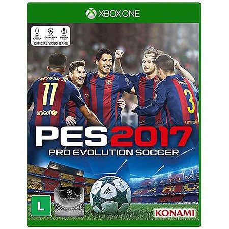 Jogo Pro Evolution Soccer 2017 (PES 17) - Xbox One