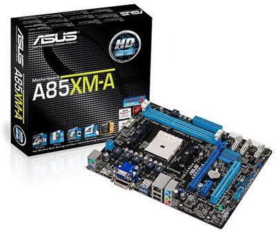 Placa Mãe Asus A85XM-M AMD FM2 DDR 3, DVI, VGA, HDMI