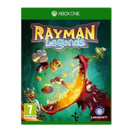 Jogo Rayman Legends Xbox One Blu-Ray