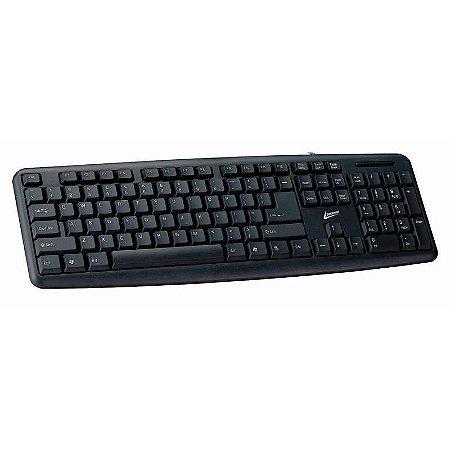 Teclado Leadership Standard Black USB 8496
