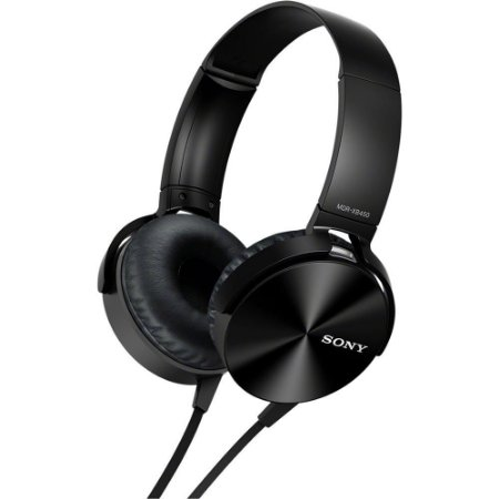 Fone de Ouvido Sony P2 Preto MDR-XB450AP/BCE7