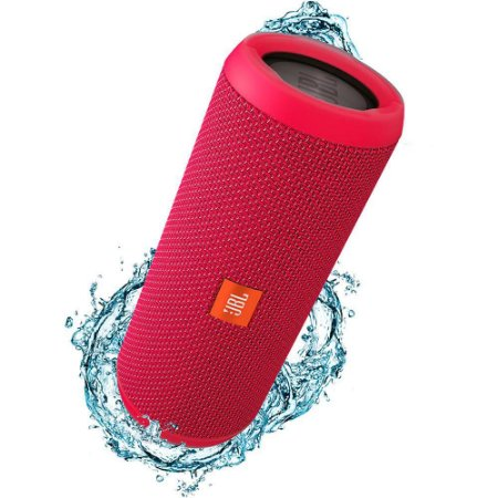 Caixa de Som Bluetooth JBL FLIP3 Rosa 16W RMS Amplificada 2X8W