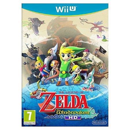 Jogo The Legend Of Zelda: The Wind Waker Hd - Wii U