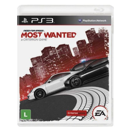 Jogo Need for Speed - Most Wanted - PS3
