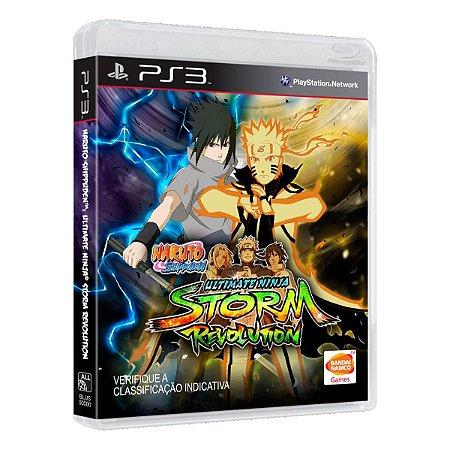 Jogo Naruto Shippuden Ultimate Ninja Storm Revolution - PS3