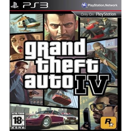 Jogo Grand Theft Auto - GTA - IV  - PS3