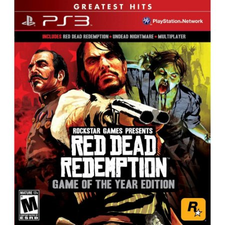 Jogo Red Dead Redemption: Goty - Game of The Year Edition - PS3