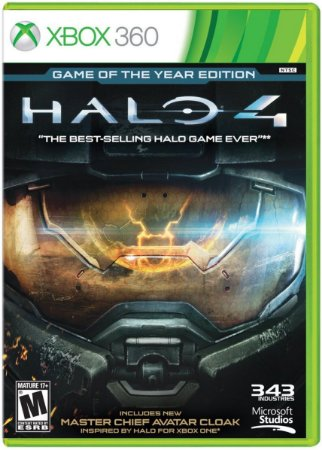 Jogo Halo 4 Edição Jogo do Ano Xbox 360