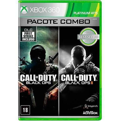 Jogo Call Of Duty Black Ops Combo Pack - Xbox 360