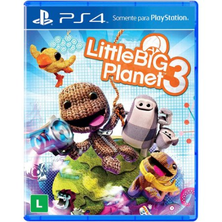 Jogo Little Big Planet 3 - PS4