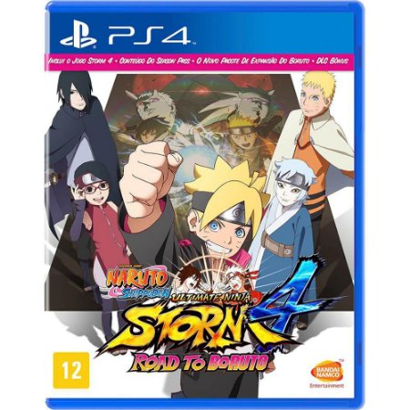 Jogo Naruto Shippuden: Ultimate Ninja Storm 4 Road To Boruto - PS4