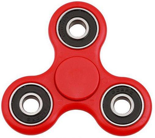 Fidget Hand Spinner Toy Anti Stress e Ansiedade - Vermelho