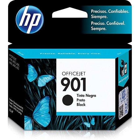 Cartucho de Tinta HP 901 Preto - CC653AB
