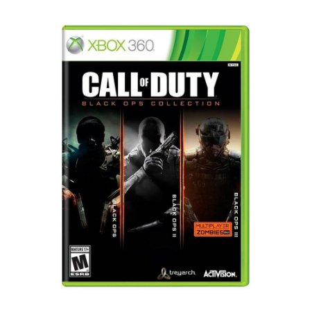 JOGO CALL OF DUTY BLACK OPS COLLECTION - XBOX 360