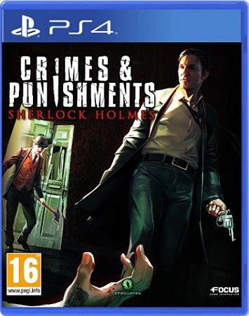 Jogo Crimes & Punishments Sherlock Holmes - PS4