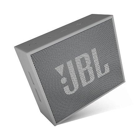 Caixa de som Bluetooth JBL GO - Cinza