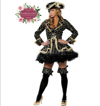 1b5966eabfbb Fantasia Corselet Pirata