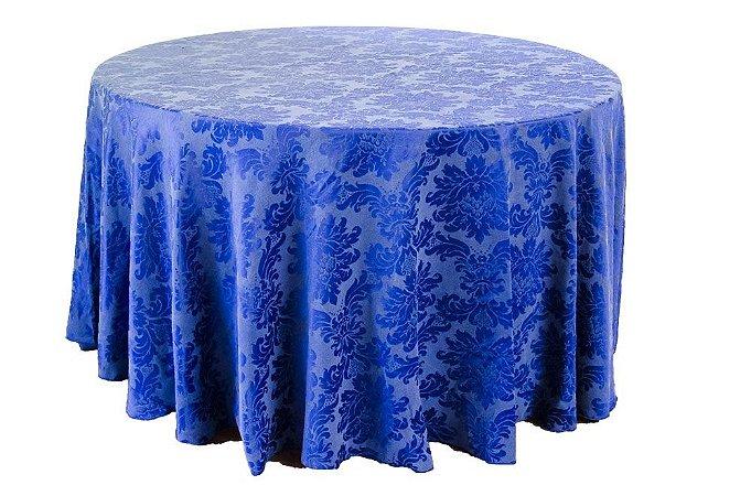Toalha Adamascada Azul Royal