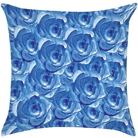 Almofada Digital Rosas azuis