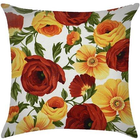 Almofada Floral peonias