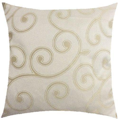 Almofada arabesco dourado