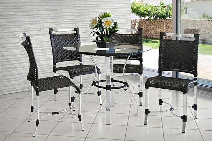 Conjunto de Mesa c/ Cadeiras Andressa