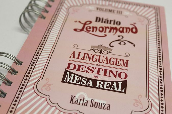 Diário Lenormand Volume 3 - de Karla Souza