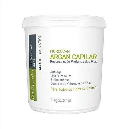 FOR BEAUTY ARGAN CAPILAR MAX ILLUMINATION 1kg