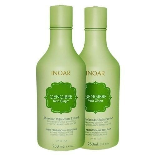 INOAR KIT DUO GENGIBRE SHAMPOO E CONDICIONADOR 250ml