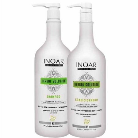 INOAR KIT HERBAL SHAMPOO E CONDICIONADOR 1000ml