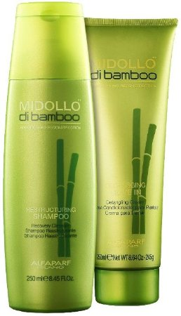 ALFAPARF MIDOLLO DI BAMBU LEAVE IN 250ml /  SHAMPOO 250ml