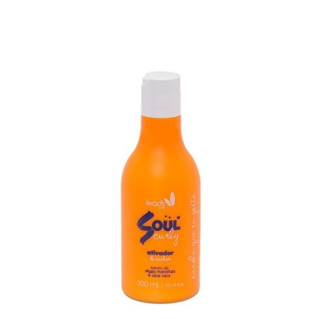 LEADS SHAMPOO DISCIPLINANTE SOUL CURLY 300ml