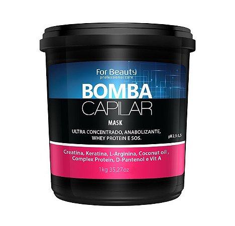 FOR BEAUTY BOMBA CAPILAR MÁSCARA 1kg